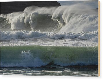 Power Wood Print by Barbara Walsh