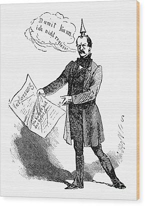 Prince Otto Von Bismarck  Wood Print by Granger