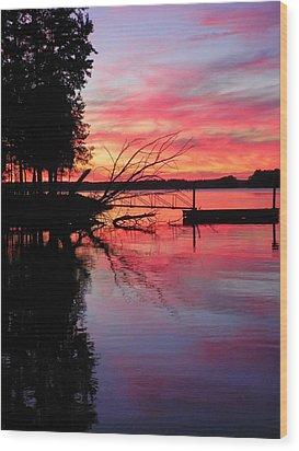 Sunset 9 Wood Print