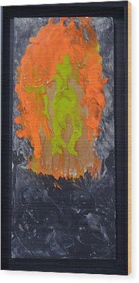 Untitled Wood Print by Brenda Chapman