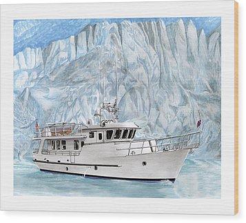World Cruising 65 Foot Yacht Wood Print