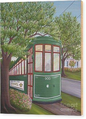 900 On The Avenue Wood Print