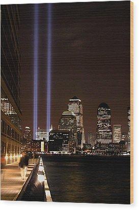 911 Anniversary Wood Print by Gary Slawsky