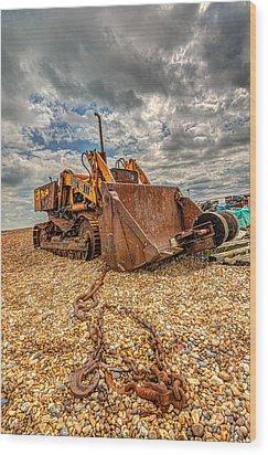 A Bad Case Of Rust Wood Print