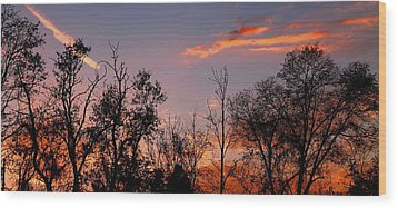 Wood Print featuring the photograph A Beautiful Ending by Candice Trimble