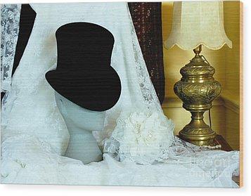 A Bridal Scene Wood Print