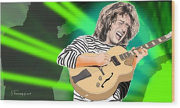 A Bright Size Life Pat Metheny Wood Print
