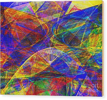 A Cats Dream 20130512 Horizontal Wood Print by Wingsdomain Art and Photography