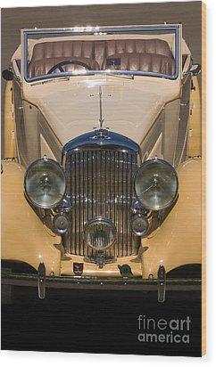 A Classic Rolls Royce Wood Print by Ron Sanford