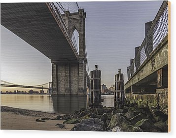 Wood Print featuring the photograph A Different Look  by Anthony Fields