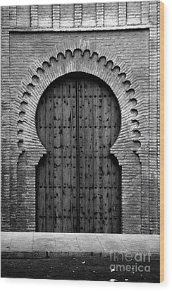 A Door To Glory Wood Print by Syed Aqueel