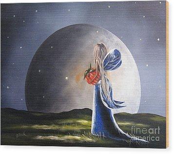 A Fairy Tale By Shawna Erback Wood Print by Shawna Erback