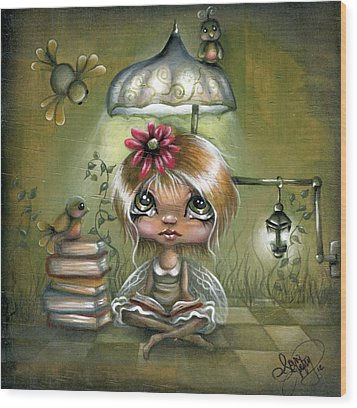 A Fairyland Novel Wood Print by Robin Sample