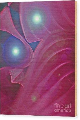 A Flutter Of Fairies Wood Print by First Star Art