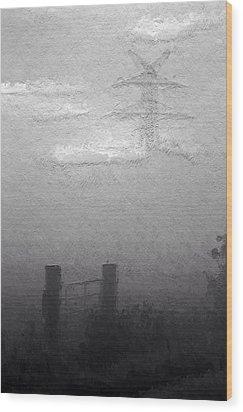 A Foggy Day Wood Print by Steve K