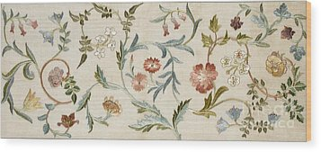 A Garden Piece Wood Print by May Morris