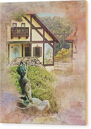 A Glimpse Of Bavaria In West Virginia Wood Print