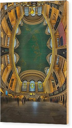 A Grand View  Wood Print by Susan Candelario
