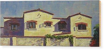 A Home In Barranco Wood Print