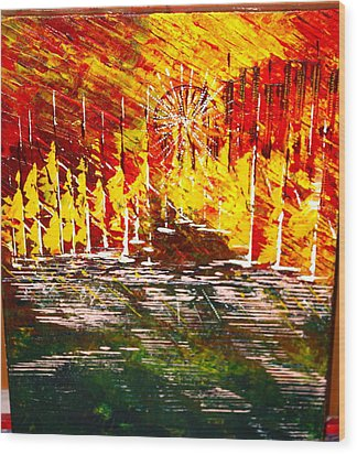 A Hot Summer Day.- Sold Wood Print