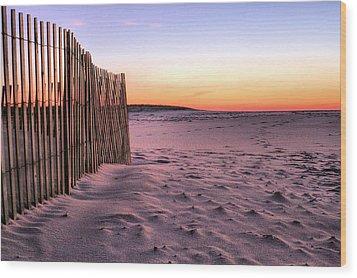 A Jones Beach Morning Wood Print by JC Findley