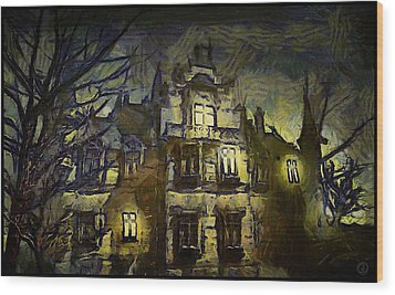 a la van Gogh Wood Print by Gun Legler