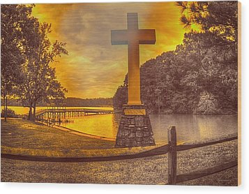 Wood Print featuring the photograph A Light Unto The World by Dennis Baswell