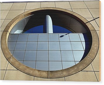 A Matter Of Perspective Wood Print by Bob Wall