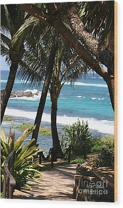 Wood Print featuring the photograph A Maui Afternoon by Mary Lou Chmura
