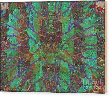 A-maze-ing Wood Print