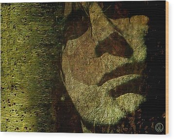 A Minute Of Reflection Wood Print by Gun Legler
