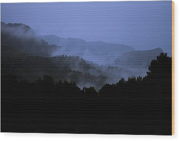 Wood Print featuring the photograph A Monks View by Stewart Scott