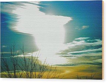 A Myriad Twilight Wood Print by Luke Jones