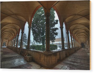 A New Angle Wood Print by Tommaso Di Donato