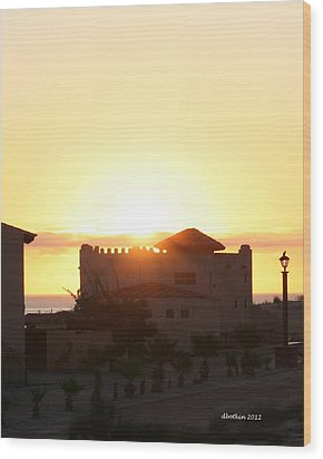 Wood Print featuring the photograph A New Day by Dick Botkin