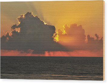A New Day Has Arrived Wood Print by Photography  By Sai