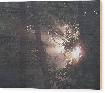 A New Day Wood Print