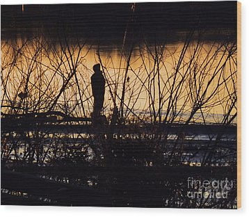 Wood Print featuring the photograph A New Day by Robyn King