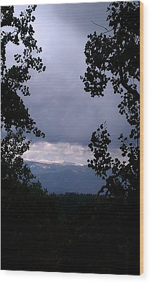 Wood Print featuring the photograph A Peek At Heaven by Fortunate Findings Shirley Dickerson