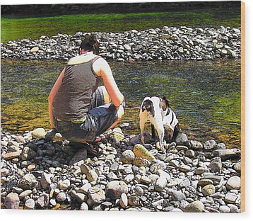 Wood Print featuring the photograph A Perfect Day by Micki Findlay
