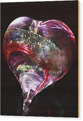 Wood Print featuring the photograph A Rainbow's Heart by The Art Of Marilyn Ridoutt-Greene