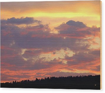 A Remarkable Sky Wood Print by Will Borden