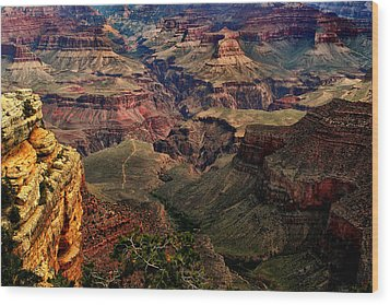 A River Runs Through It-the Grand Canyon Wood Print