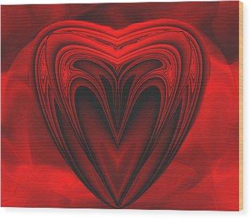 A Secret Love Wood Print by Wendy J St Christopher