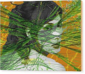 A Tangled Web Wood Print by Seth Weaver