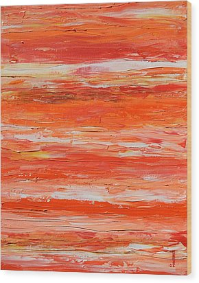 A Thousand Sunsets Wood Print