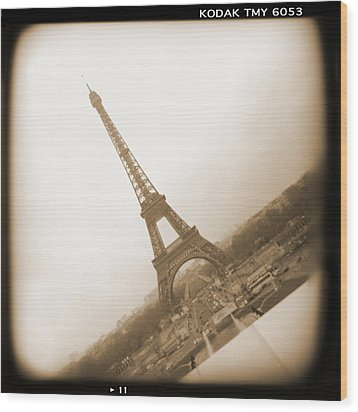 A Walk Through Paris 11 Wood Print by Mike McGlothlen