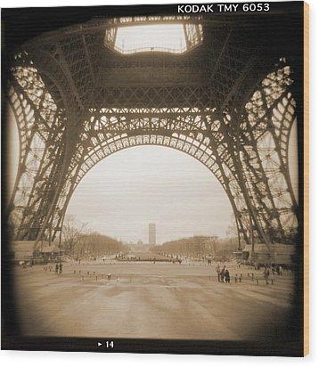 A Walk Through Paris 14 Wood Print by Mike McGlothlen