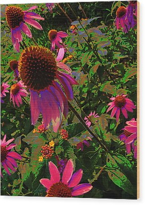 Wood Print featuring the photograph A Warm Spring by Diane Miller