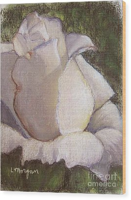 A Whiter Shade Of Pale Wood Print by Laurie Morgan